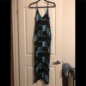 Rayon TieDye Maxi Dress